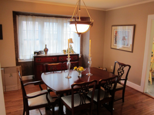 Dining Room Before